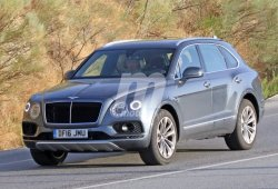 El Bentley Bentayga Diesel ya está de pruebas con su carrocería definitiva