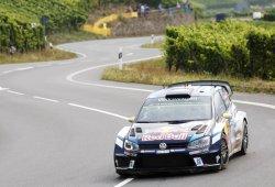 Cuatro pilotos pelean por el liderato del Rally de Alemania
