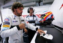 El nuevo motor de Honda deja a Alonso en el box
