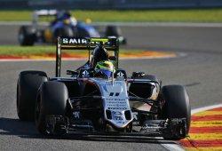 Force India se siente como pez en el agua en Spa