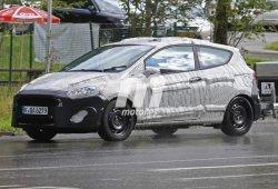 Un primer vistazo al nuevo Ford Fiesta 2017 de tres puertas y a su interior