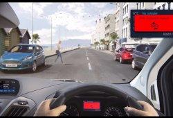 Las nuevas Ford Transit y Transit Custom añaden un sistema de detección de peatones