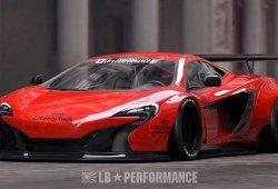 Liberty Walk transforma por completo la imagen del McLaren 650S