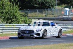 El Mercedes AMG GT C Roadster 2017 se pone a punto en Nürburgring