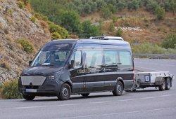 El minibus basado en la Mercedes-Benz Sprinter 2018 también se pone a punto