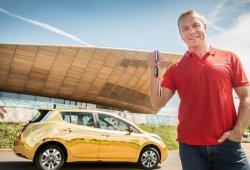 Nissan regalará un Leaf dorado a los medallistas británicos de Rio 2016