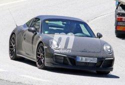 El Porsche 911 GTS Targa 2017 cazado en el sur de España