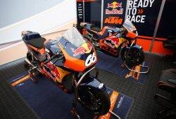 Se presenta la KTM RC16 de MotoGP en el Red Bull Ring