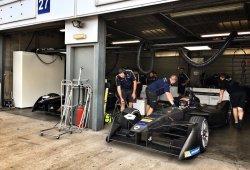 Primera jornada de test de la Fórmula E en Donington