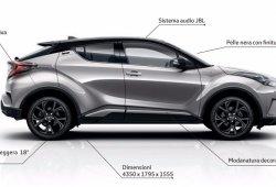 Toyota C-HR First Edition, edición especial de lanzamiento para Europa