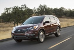 Estados Unidos - Julio 2016: El Honda CR-V sube como la espuma