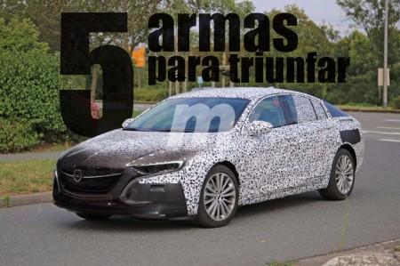 Opel Insignia 2017: Sus cinco armas para triunfar