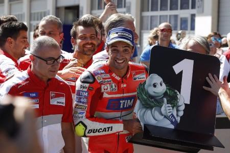 Iannone encabeza el doblete de Ducati en Austria
