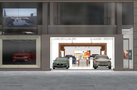 Jaguar Land Rover abrirá su primera tienda digital Rockar en septiembre
