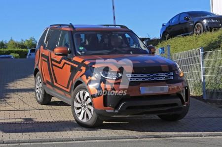 El Land Rover Discovery 2017 pierde camuflaje y su diseño nos resulta muy familiar