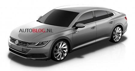 El Volkswagen CC 2018 se muestra en estas filtraciones