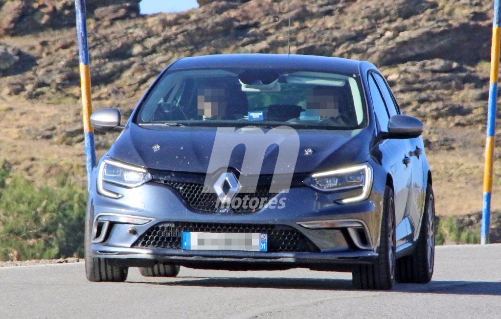 El nuevo Renault Mégane R.S. inicia su desarrollo y lo cazamos por primera vez