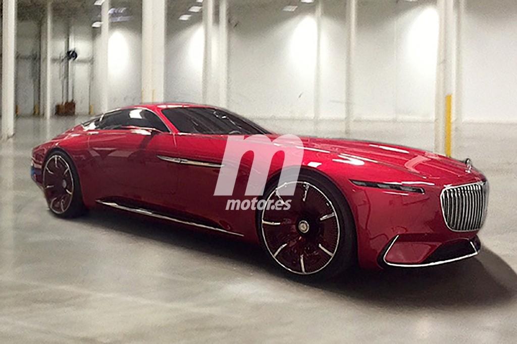 ¡Filtrado! así es el Vision Mercedes-Maybach 6, el coupé con el que soñamos