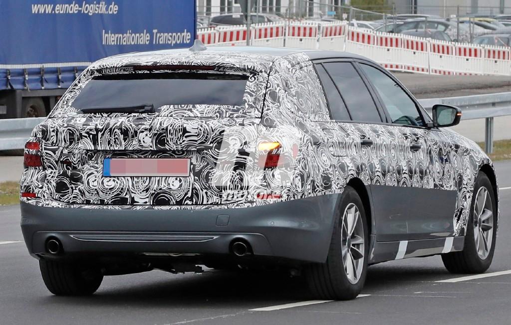 El BMW Serie 5 Touring nos revela parte de su diseño en estas fotos espía