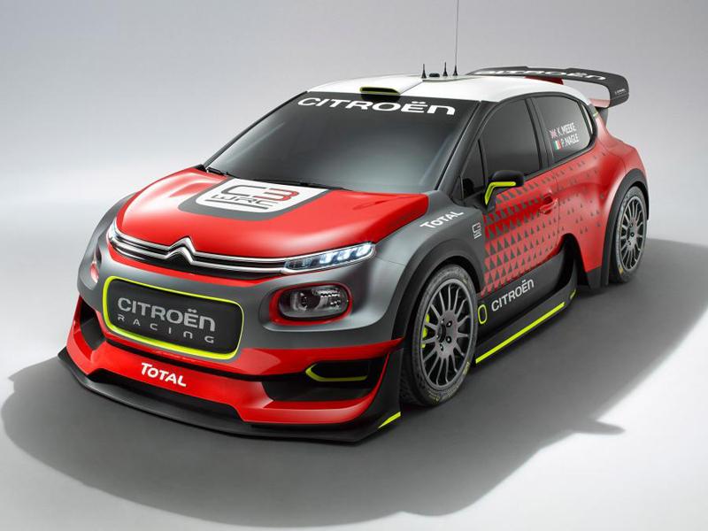 Citroën Racing presenta el Citroën C3 WRC Concept