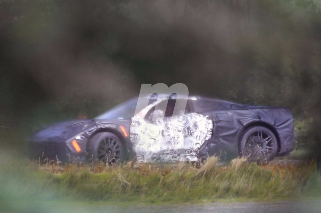Las imágenes más claras del nuevo Corvette C8 2019 de motor central