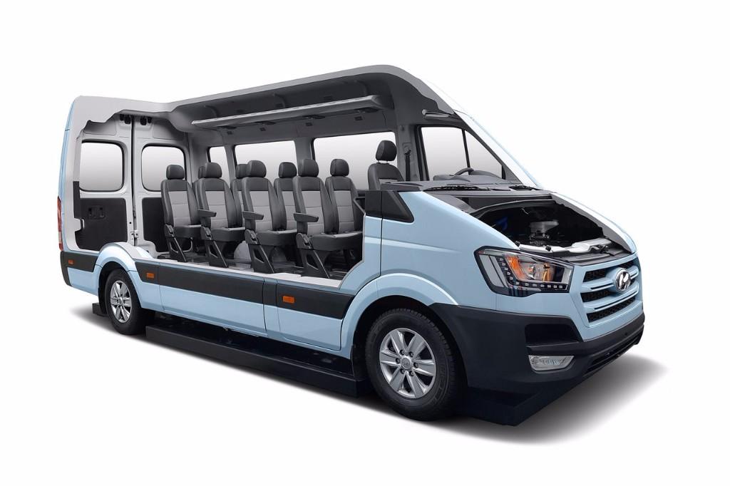 Hyundai H350 Fuel Cell, hidrógeno en los vehículos comerciales del futuro
