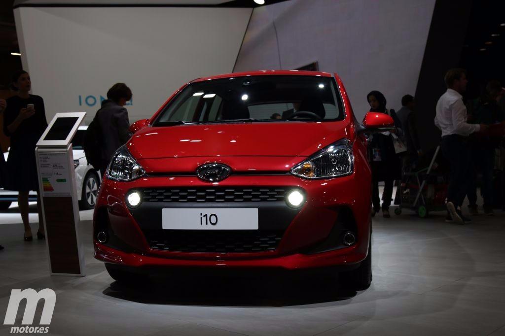 El nuevo Hyundai i10 2017 se descubre ante nosotros con un diseño más moderno