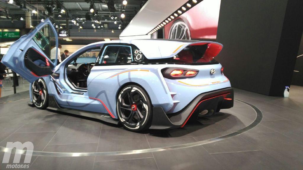 El Hyundai RN30 concept es el espectacular adelanto de la futura gama N deportiva
