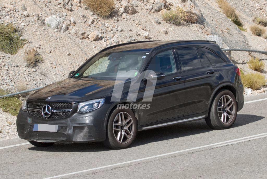 El Mercedes-AMG GLC 63 quema etapas de su desarrollo