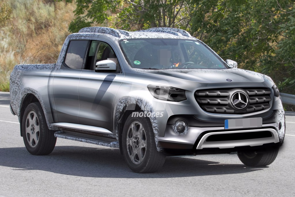 El Mercedes Pick Up 2017 ultima sus pruebas ¿Clase X o GLT?