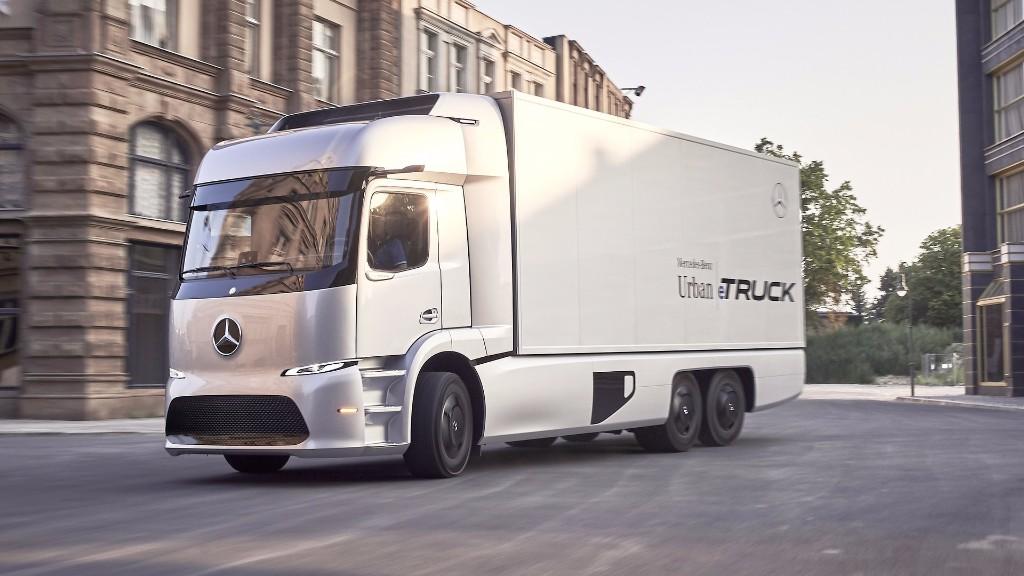 Mercedes Urban eTruck, así es el camión eléctrico de Mercedes-Benz