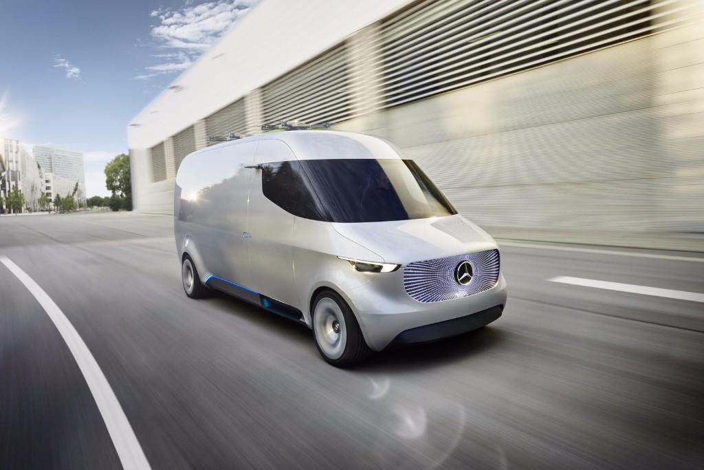 Mercedes Vision Van Concept, la furgoneta eléctrica de reparto para el futuro