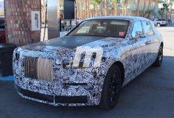 Nuevo prototipo cazado del Rolls-Royce Phantom 2018