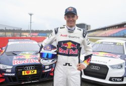Audi Sport concede 'días libres' a Mattias Ekström