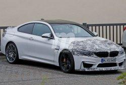 Nuevas fotos del BMW M4 2017 delatan una posible variante CS más deportiva