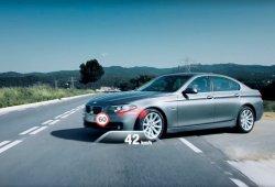BMW Serie 5 2017: un vistazo a su tecnología de conducción semi-autónoma