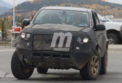 Descubre la suspensión deportiva de los prototipos del Chevrolet Colorado ZR2