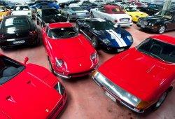 A subasta la mayor colección de deportivos puesta a la venta en Europa
