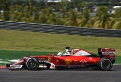 Programa dividido de Vettel y Räikkönen en Sepang