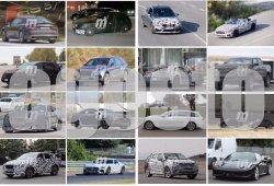 Volkswagen CrossBlue, BMW Z5 y Mercedes-AMG GT C: fotos espía Agosto 2016