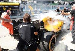 Fuego y decepción en Renault durante los libres de Sepang