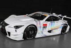 Este es el Lexus LC 500 de circuito, que competirá en 2017 en el Super GT japonés