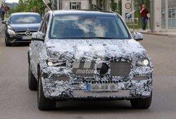 Mercedes GLE 2018, la nueva generación W167 continúa su desarrollo