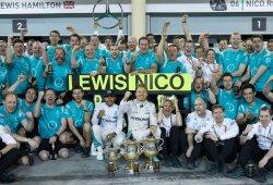 Mercedes podría ser triple campeón en Malasia