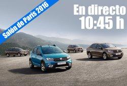 Salón de París 2016: las novedades de Dacia en directo
