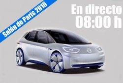 Salón de París 2016: las novedades de Volkswagen en directo