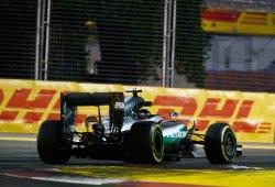 Pirelli reduce la presión de los neumáticos traseros en Singapur
