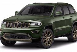 Los precios y modelos de la gama '75 Aniversario' de Jeep, al detalle