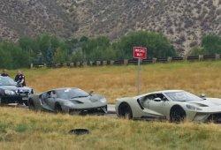 Tres Ford GT de pre-producción detenidos por la policía de Colorado, EEUU