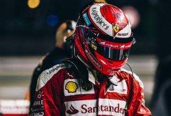 Räikkönen, decepcionado con el quinto puesto y la falta de agarre